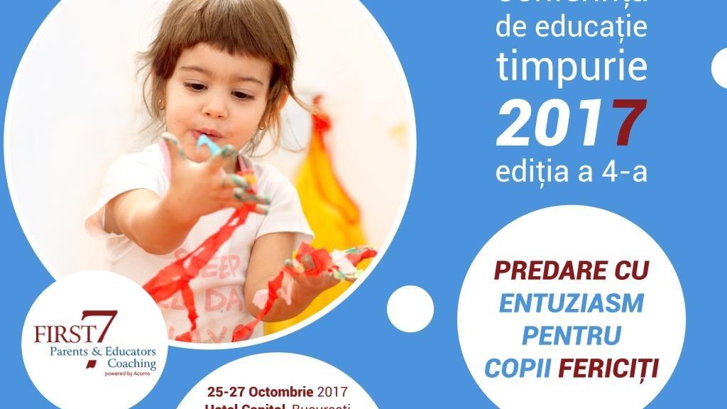 Conferința de Educație Timpurie - predare cu entuziasm